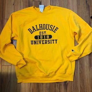 Mens Champion sweatshirt Dalhousie University